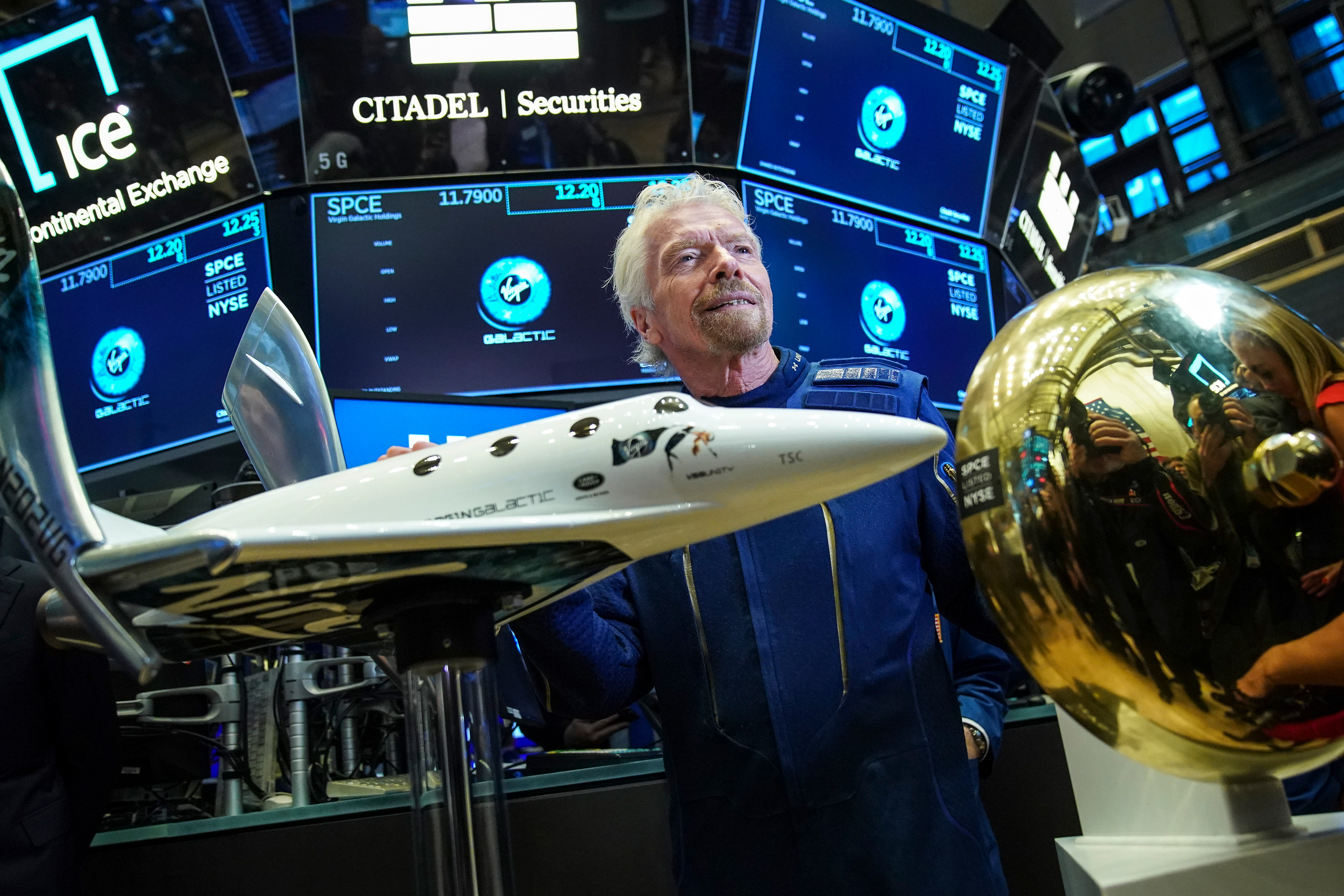 Virgin Galactic stock soars following SpaceX success