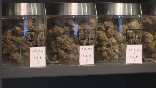 Image for House passes bill to give marijuana dispensaries access to banking services