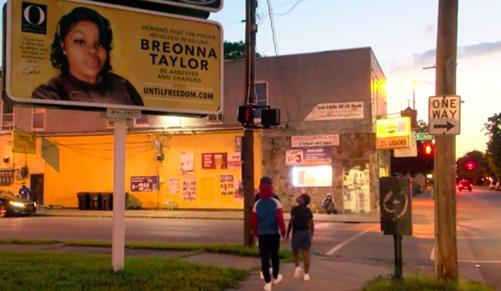 Oprah's O Magazine puts up billboards all over Louisville demanding action in the Breonna Taylor case