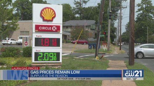 Image for After the hurricane, gas prices remain low while oil supply is high