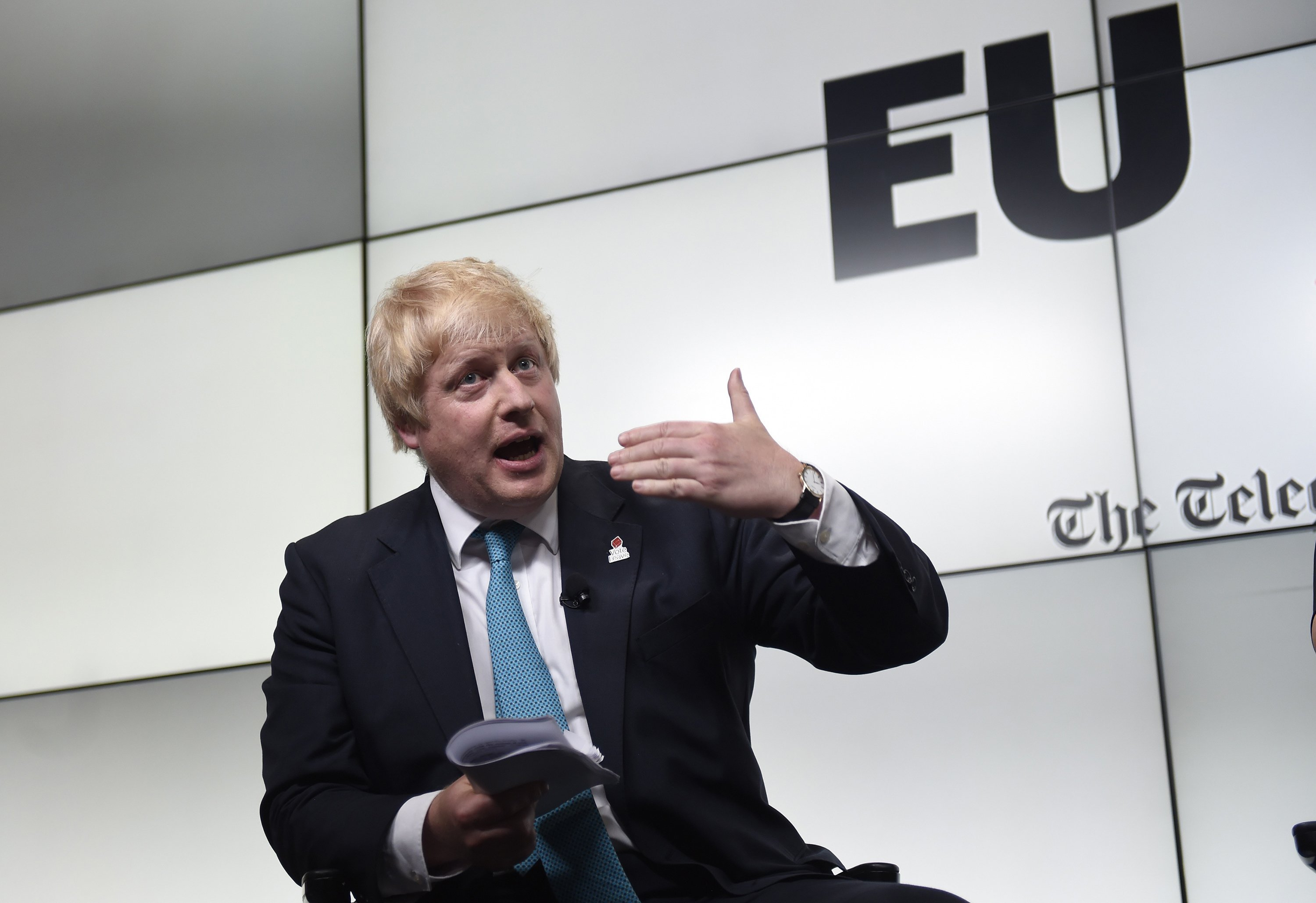 Boris Johnson doesn't have Fox News but he can always rely on the Telegraph