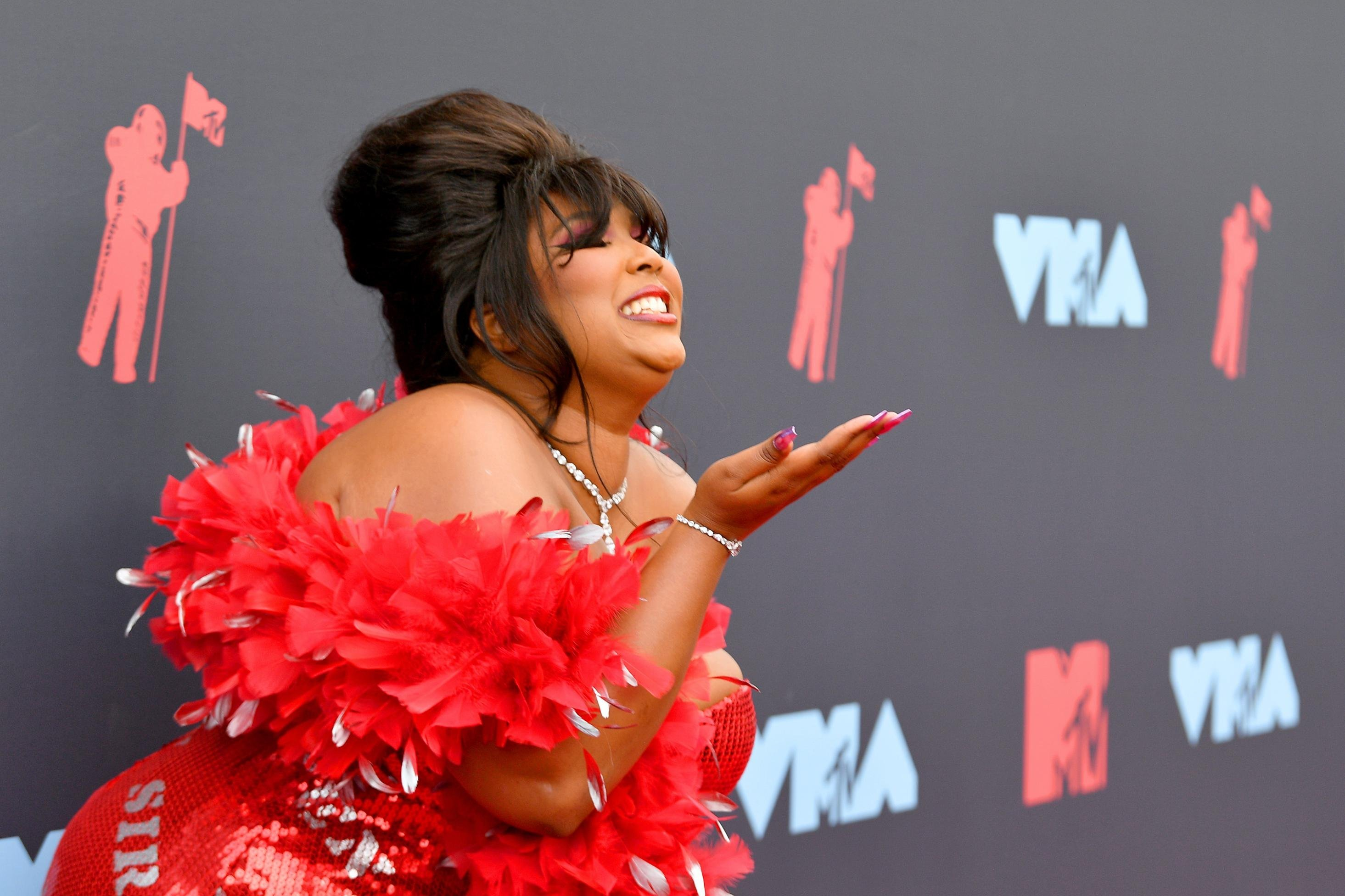 Lizzo celebrates 'Entertainer of the Year' media accolades