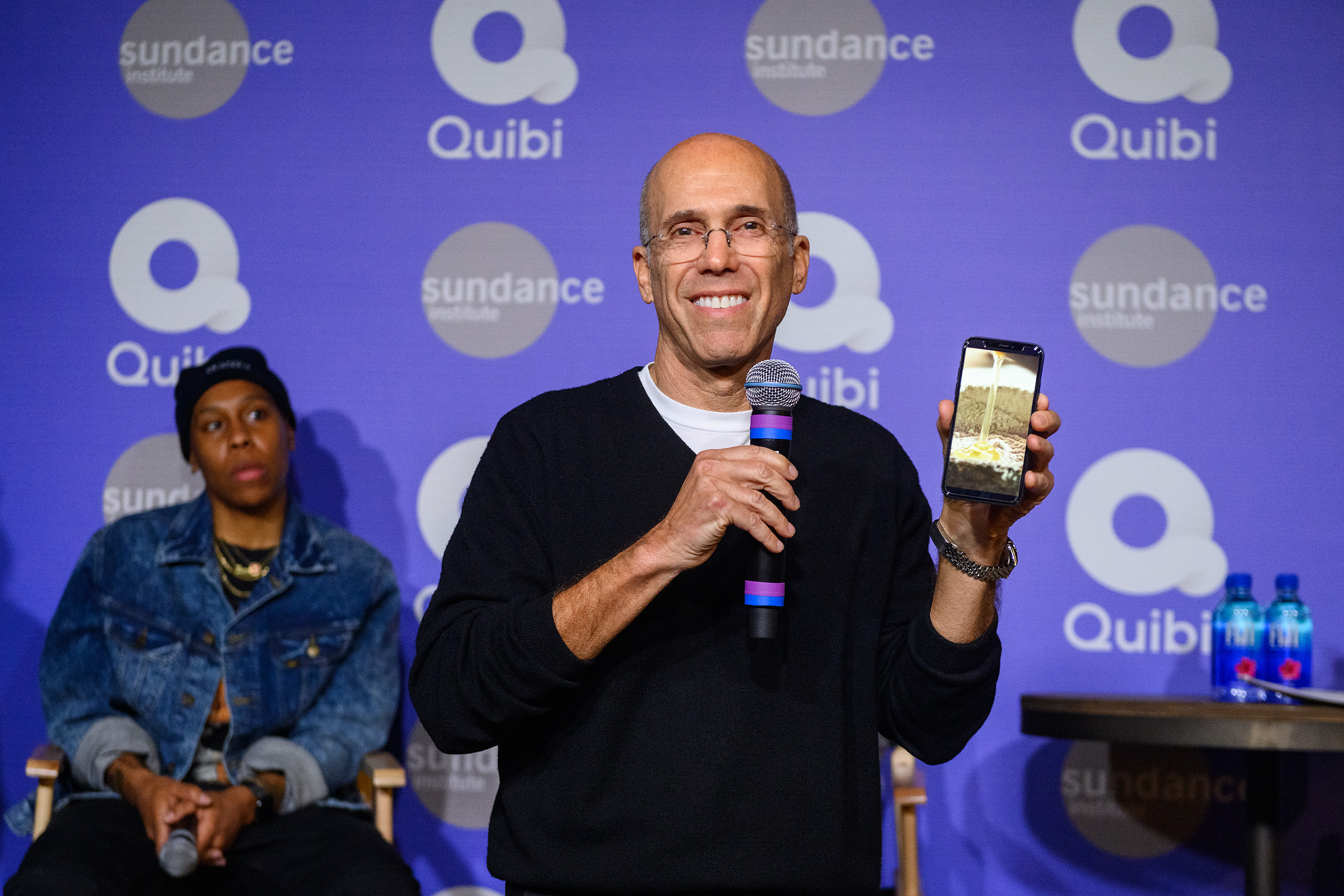 Quibi, the on-the-go streaming service, says it could benefit from people staying home