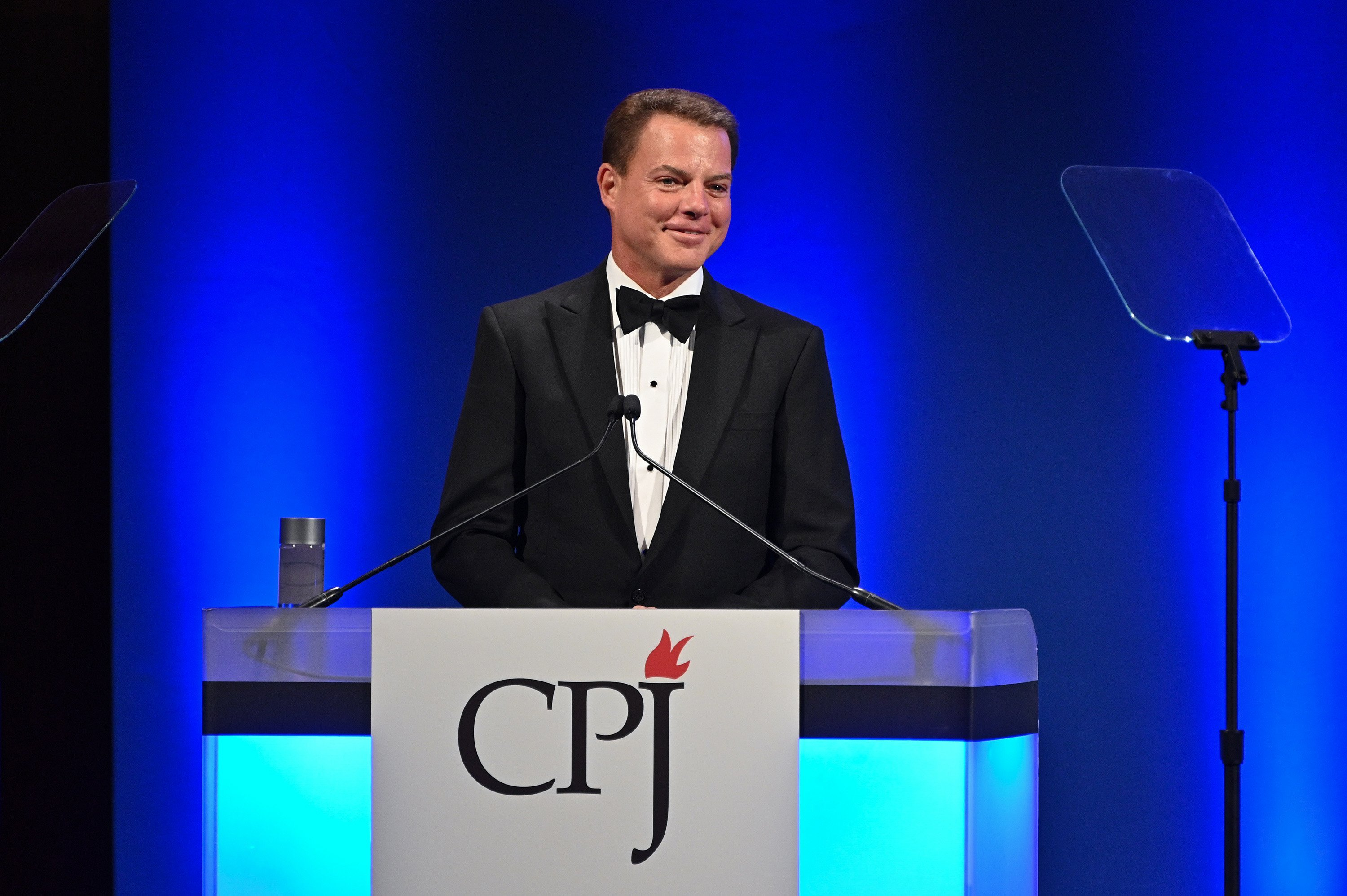 Shepard Smith slams vilification of the press in first remarks since leaving Fox News