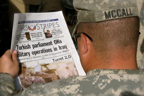 Image for Defense Dept. orders Stars and Stripes newspaper to shut down