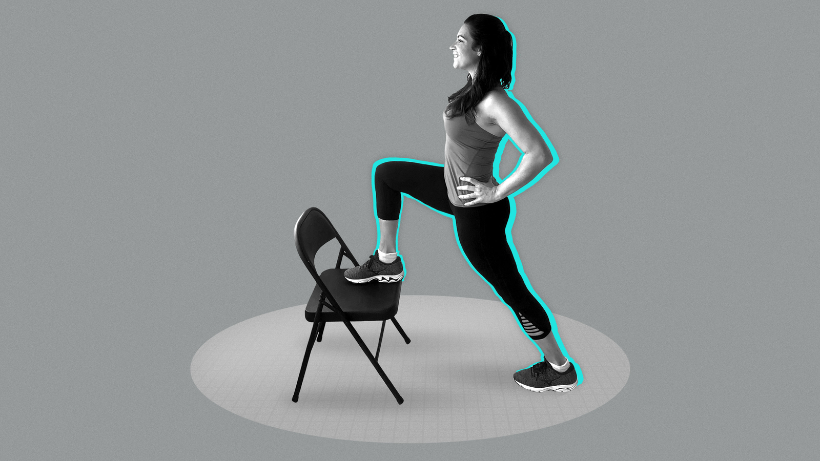 This 5-minute midday workout will get you out of your chair