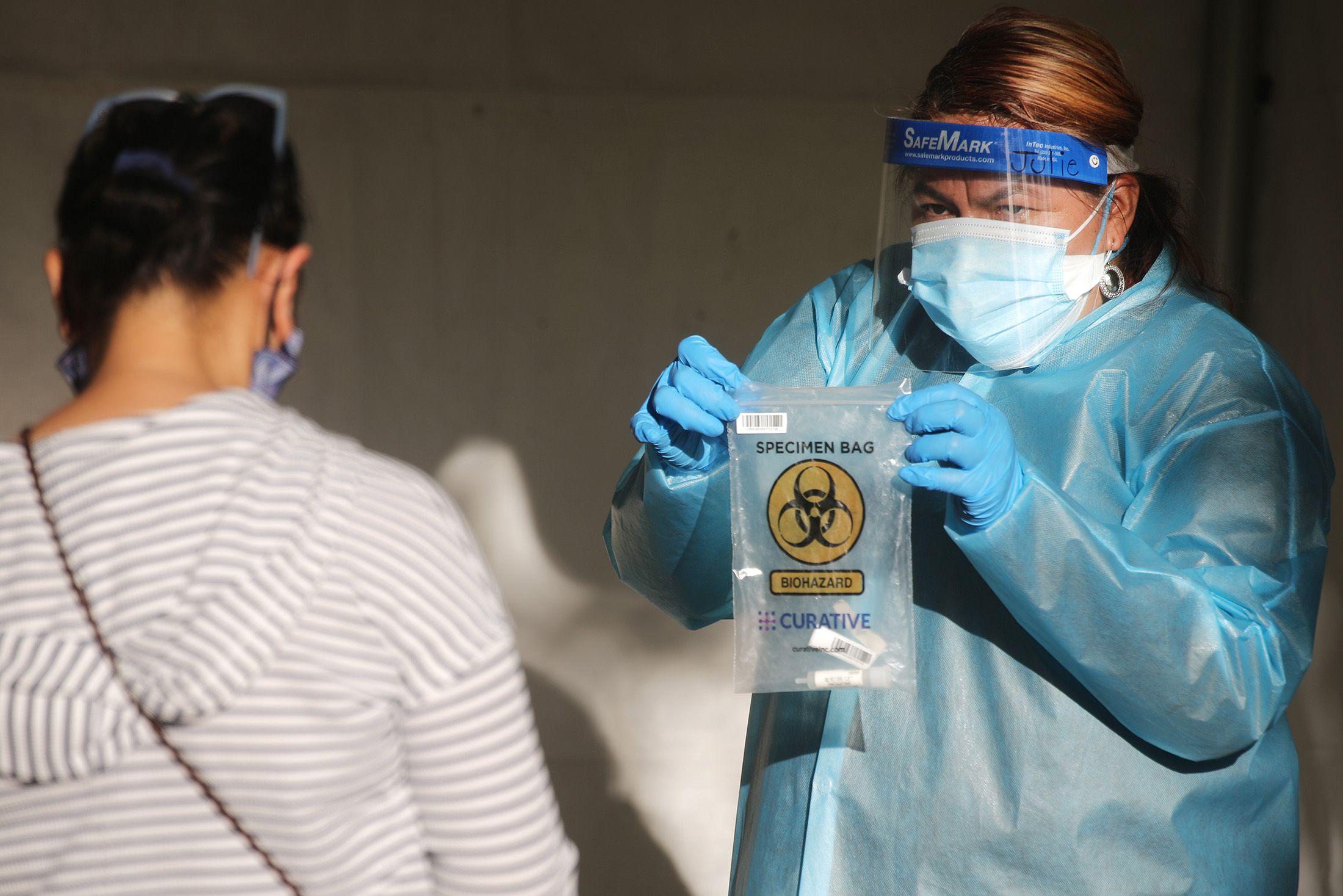 Black, Hispanic and Native American workers and their families face greater coronavirus exposure risks, report finds