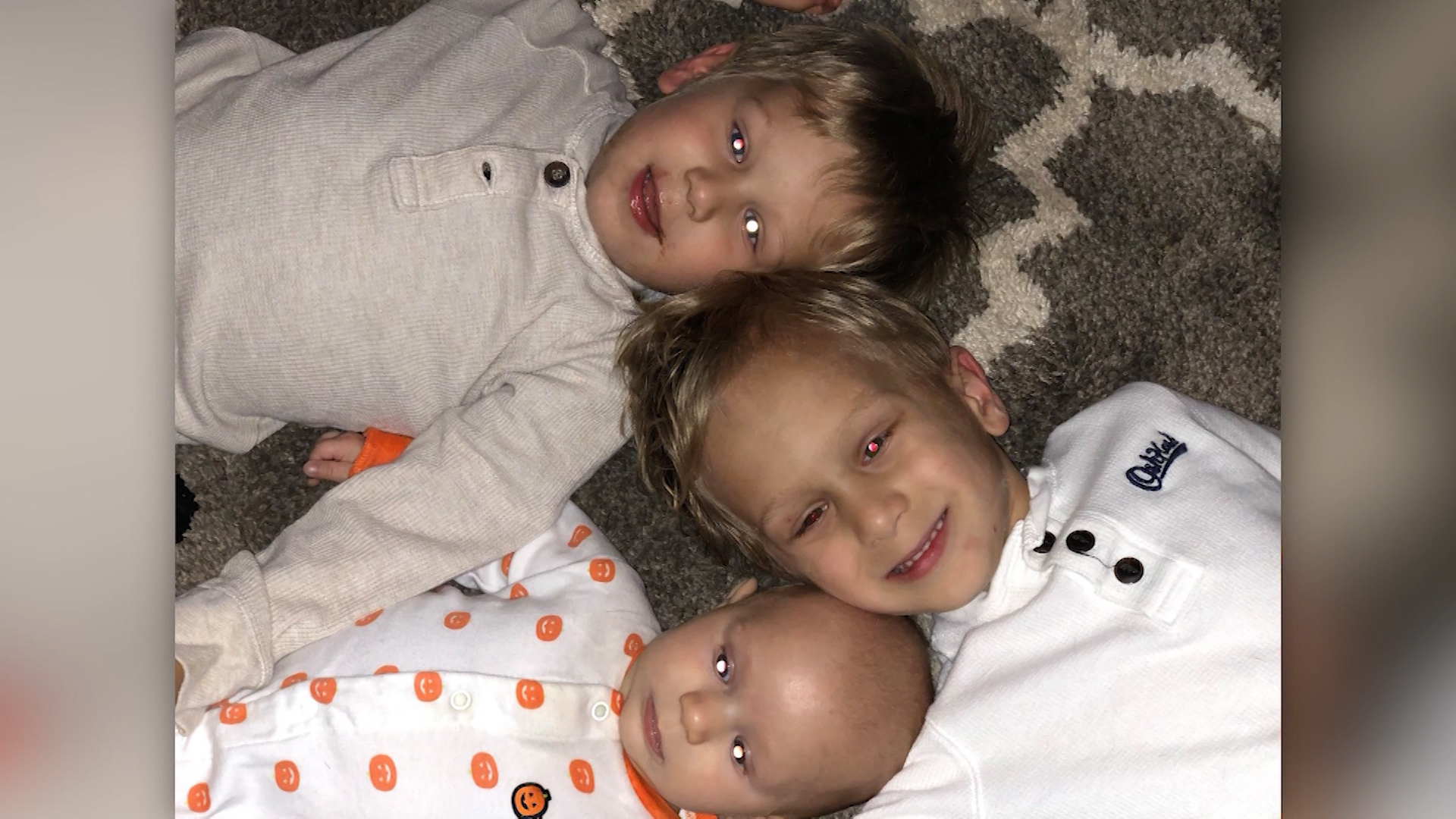 Three young brothers are fighting the same rare childhood cancer