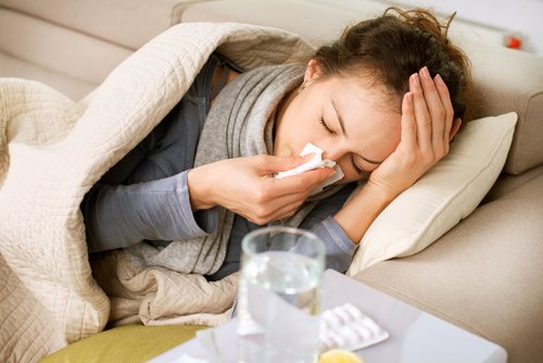 Image for Cold and flu won't attack you simultaneously, study says