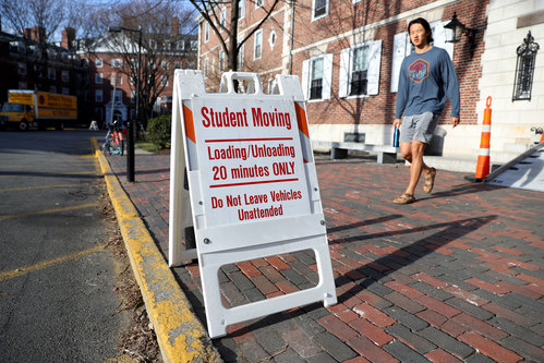Image for Colleges need to test for Covid-19 frequently to keep campuses open this fall, study says