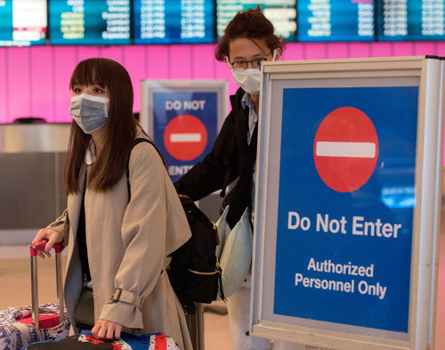 Image for US government declares the novel coronavirus a public health emergency and suspends entry for foreign nationals who visited China