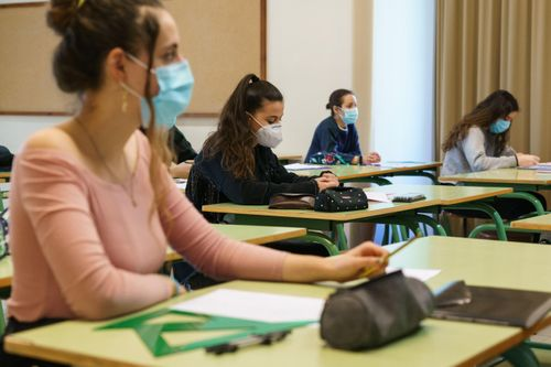 Image for In-person learning during the pandemic is possible with the right precautions, CDC researchers say