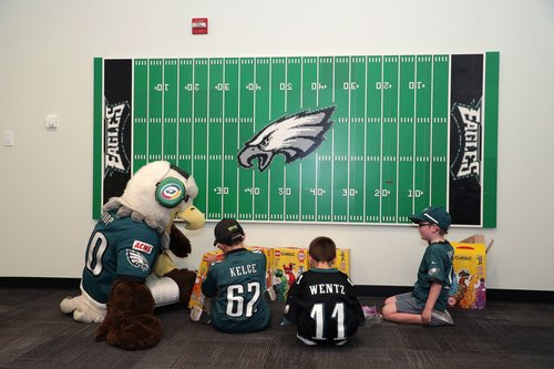 Image for Philadelphia Eagles open sensory room for fans with autism