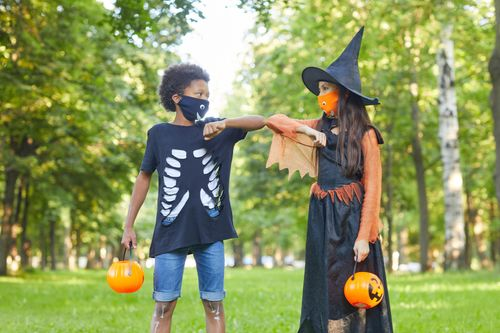 Image for Trick-or-treating, costume masks and Halloween parties discouraged by CDC this year
