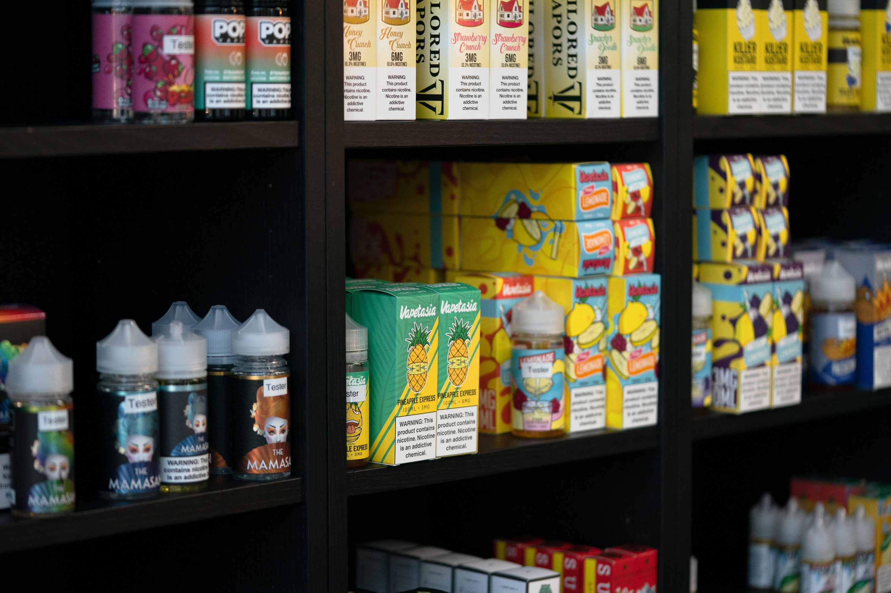FDA chief stays mum on plans for banning flavored vapes
