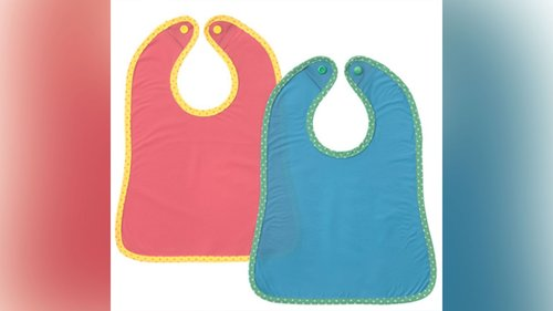 Image for IKEA recalls thousands of infant bibs worldwide for possible choking hazards