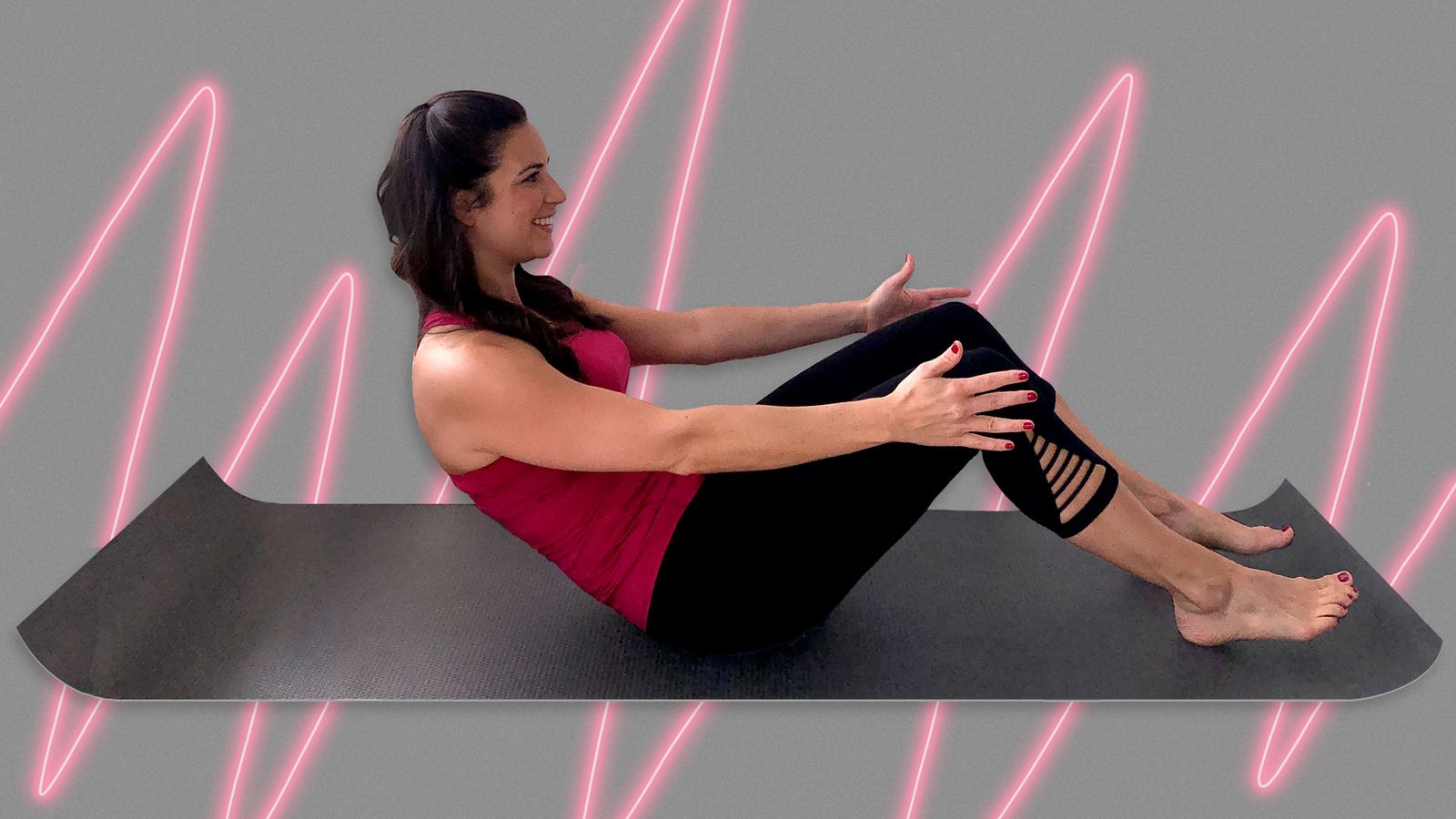 Reduce back pain with this 5-minute home workout
