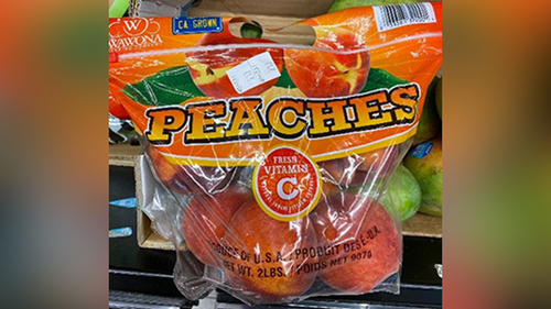 Image for Peach recall expanding over possible salmonella contamination after 78 sickened in 12 states