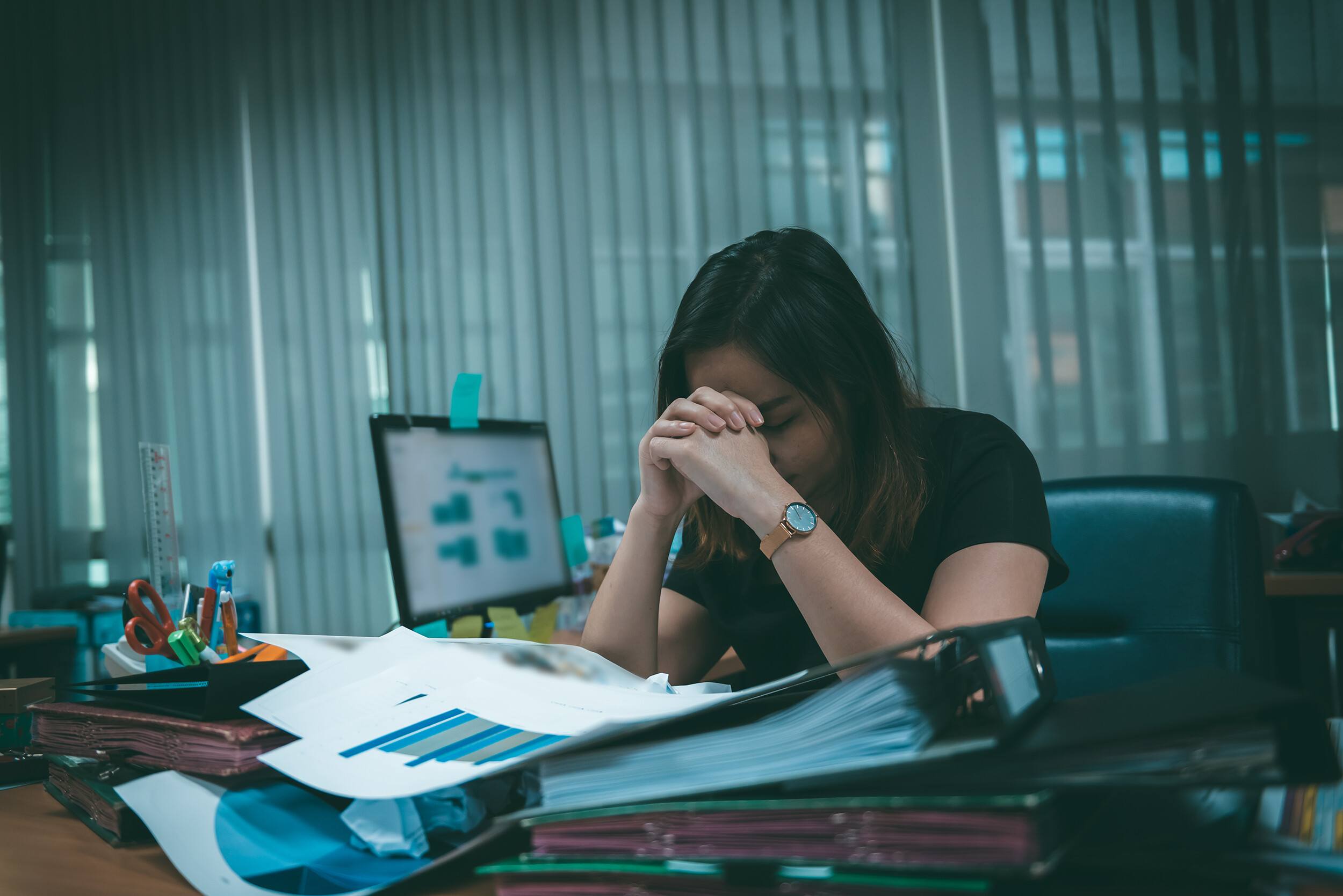 How to tell if your stress levels are normal or the sign of something more