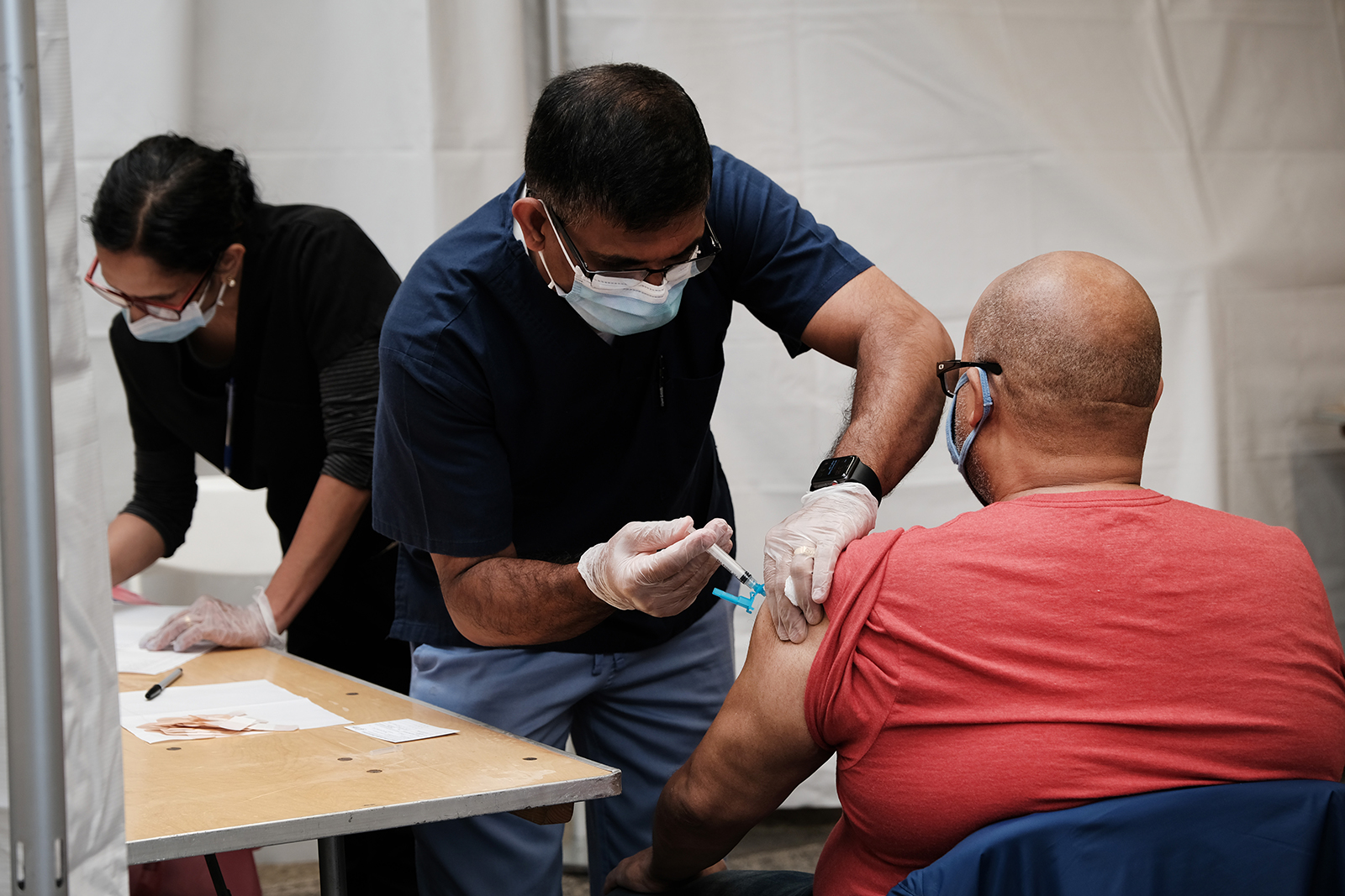 CDC says fully vaccinated people don't have to wear masks in open-air areas of public transit or at outdoor sections of hubs