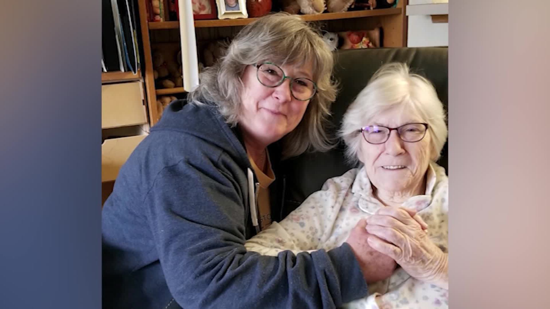 At 90, she said her final goodbyes as doctors prepared her to die from coronavirus. Then she survived