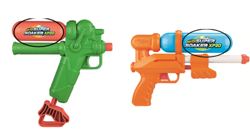 Image for Thousands of Hasbro water guns sold at Target recalled due to lead