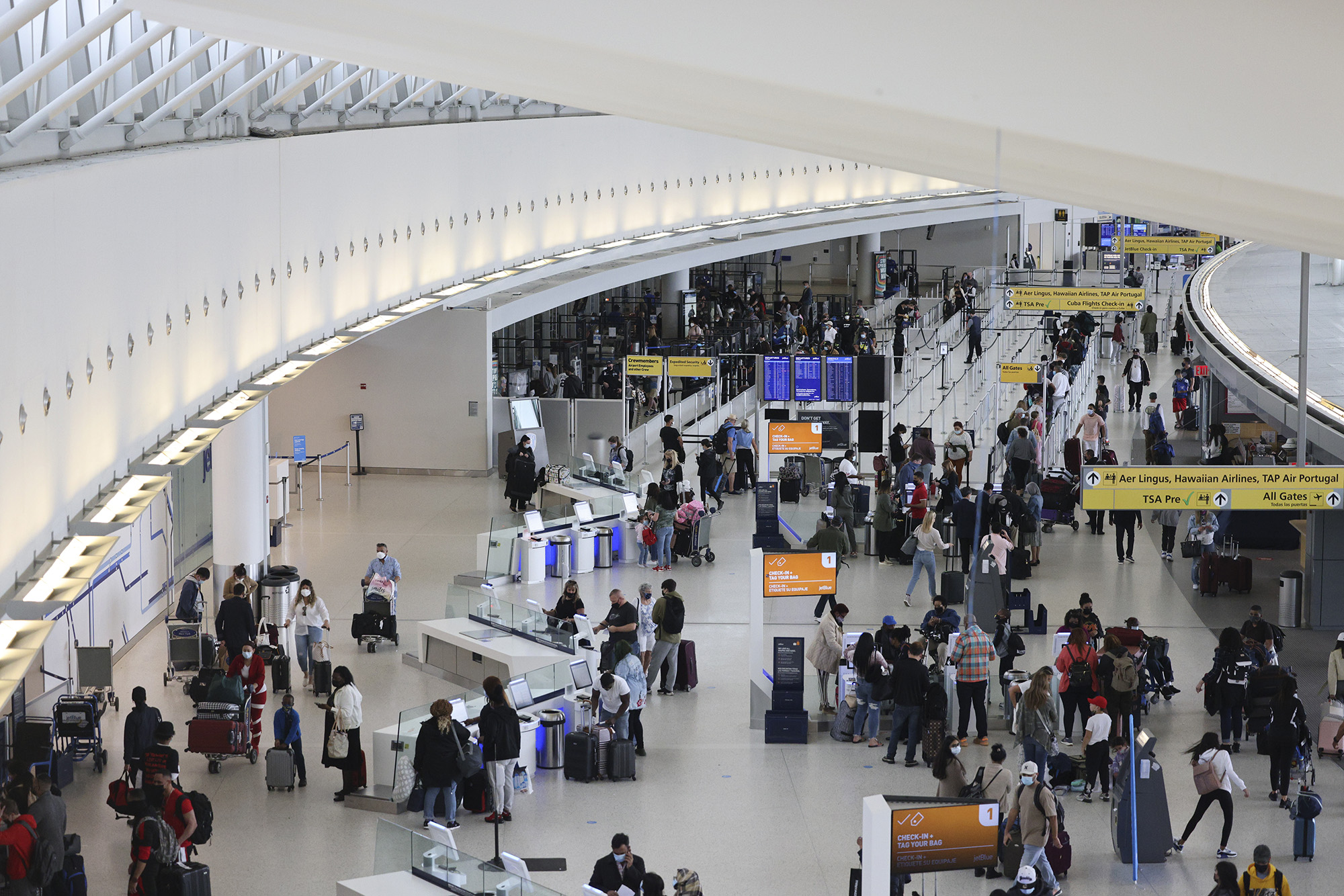 Travel is coming back. That's great news for airport stores