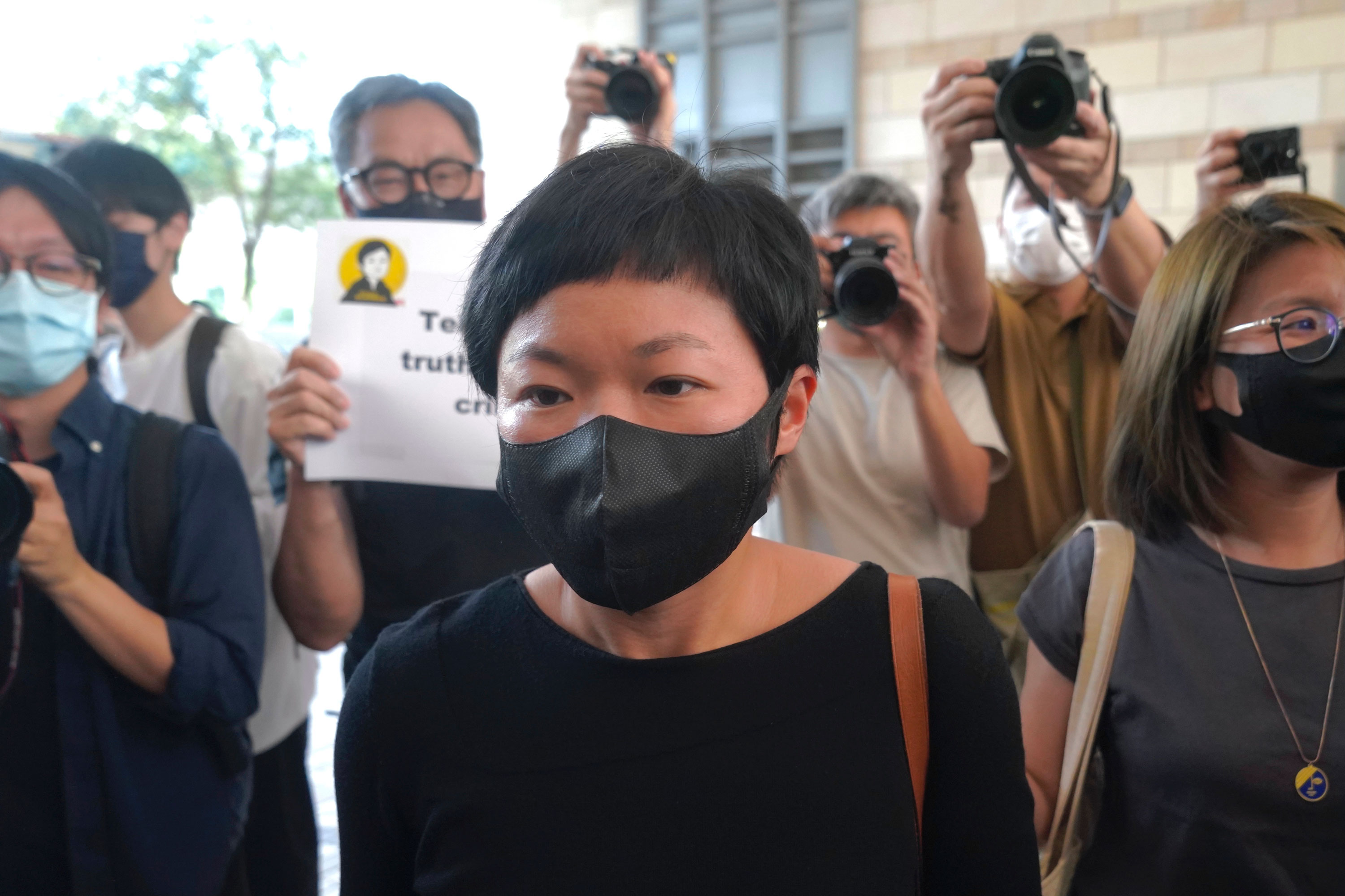 This Hong Kong journalist won awards for her investigation. Now she's been convicted for her work