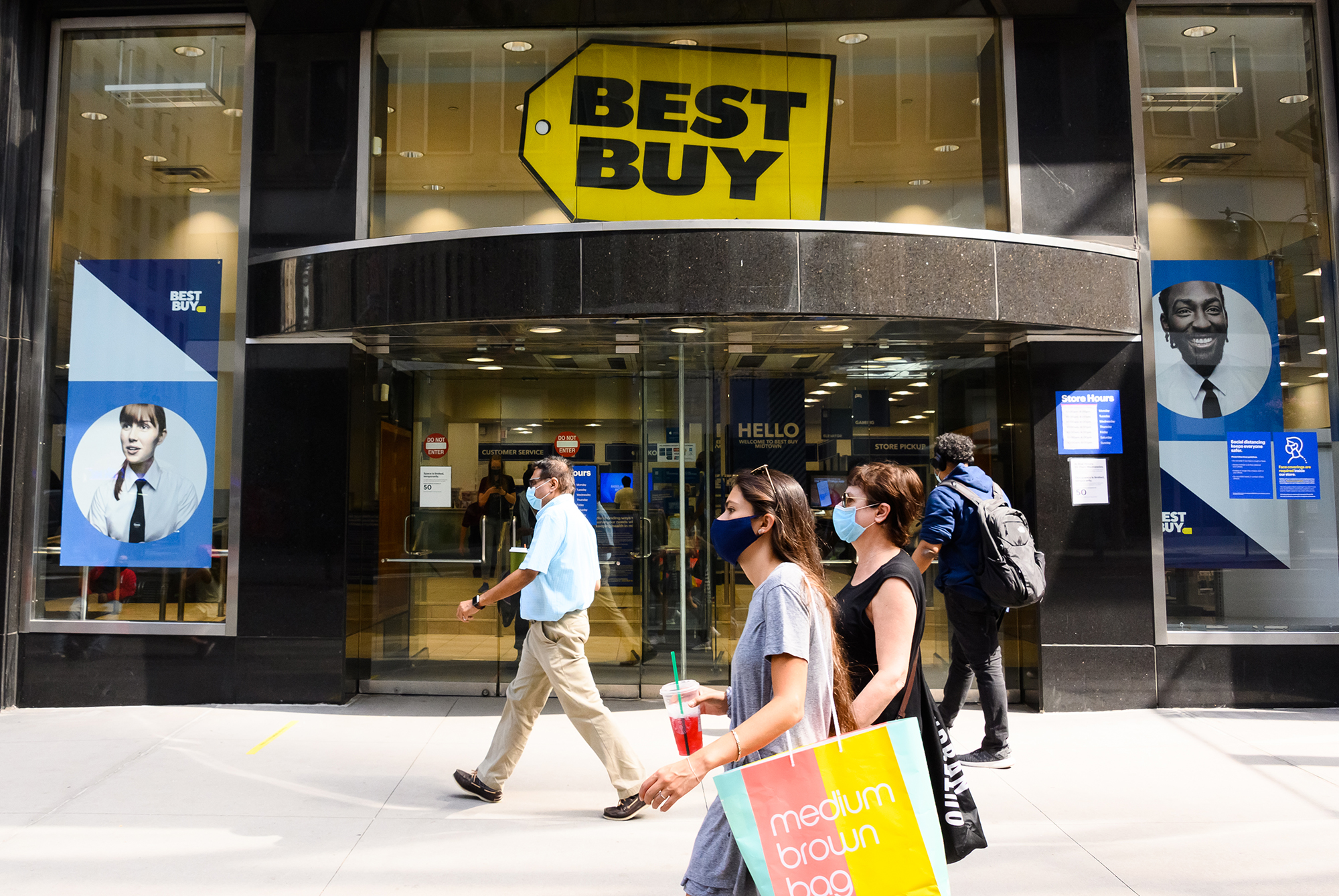 Best Buy just had its best quarter in 25 years