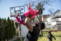 Millions of dads are stuck at home — which could be a game changer for working moms