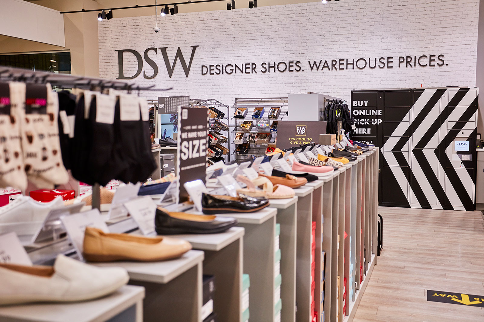 You can now buy shoes from DSW while grocery shopping at some Hy-Vee locations