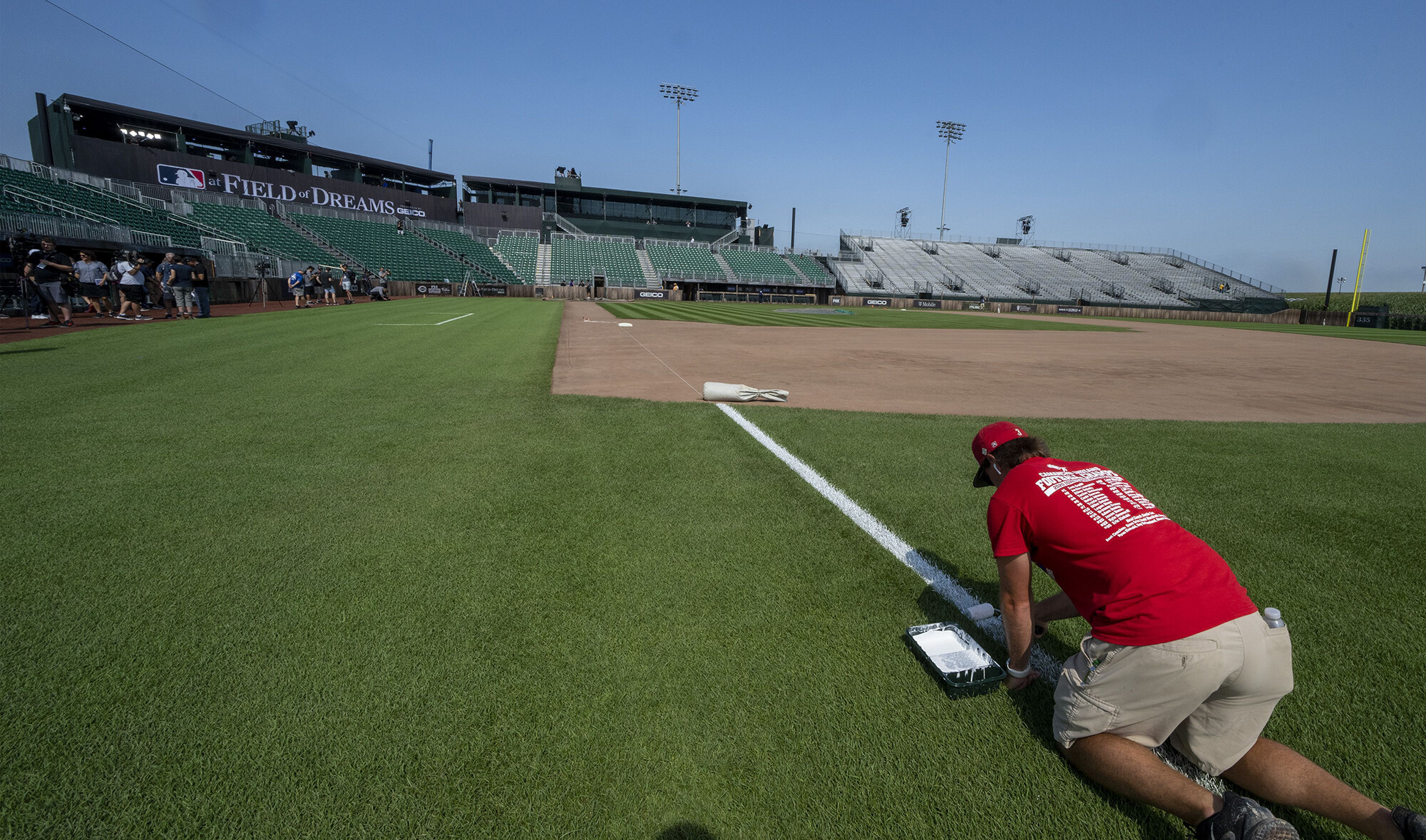 If you build it, they will pay: 'Field of Dreams' tickets cost $1,400