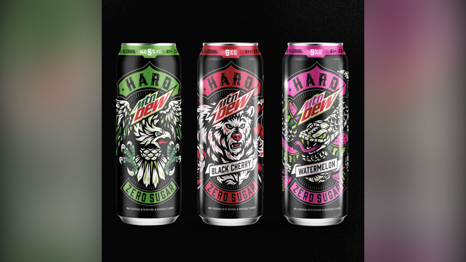 Boozy Mountain Dew is coming in 3 flavors