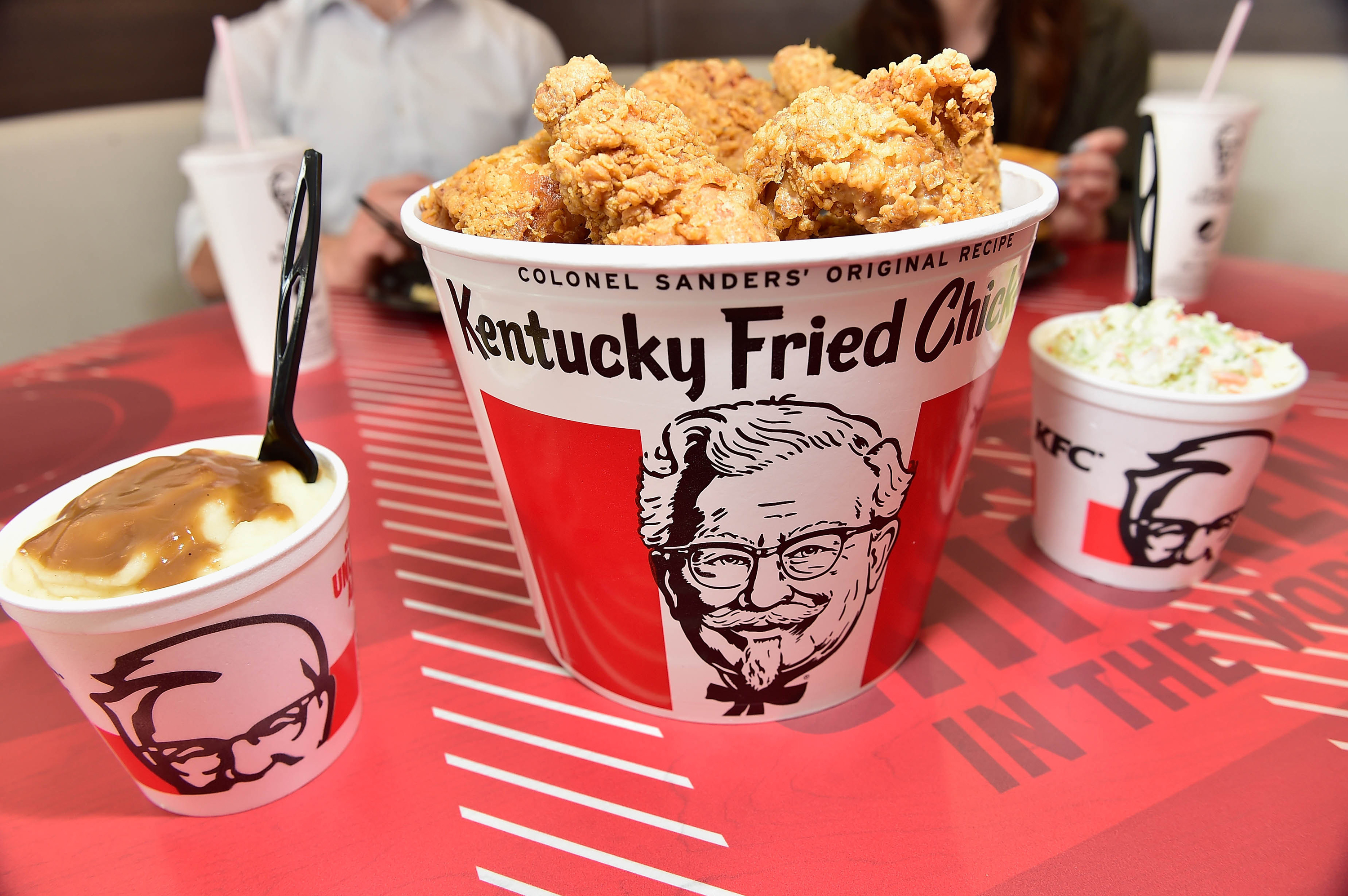 KFC suspends its 'finger lickin' good' slogan because of coronavirus
