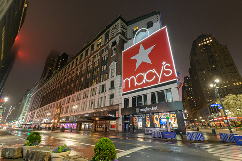 Image for Macy's will furlough the majority of its 125,000 employees