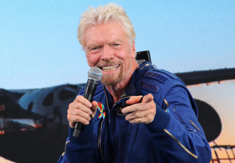 Richard Branson's flight was a stunt. It was still pretty cool