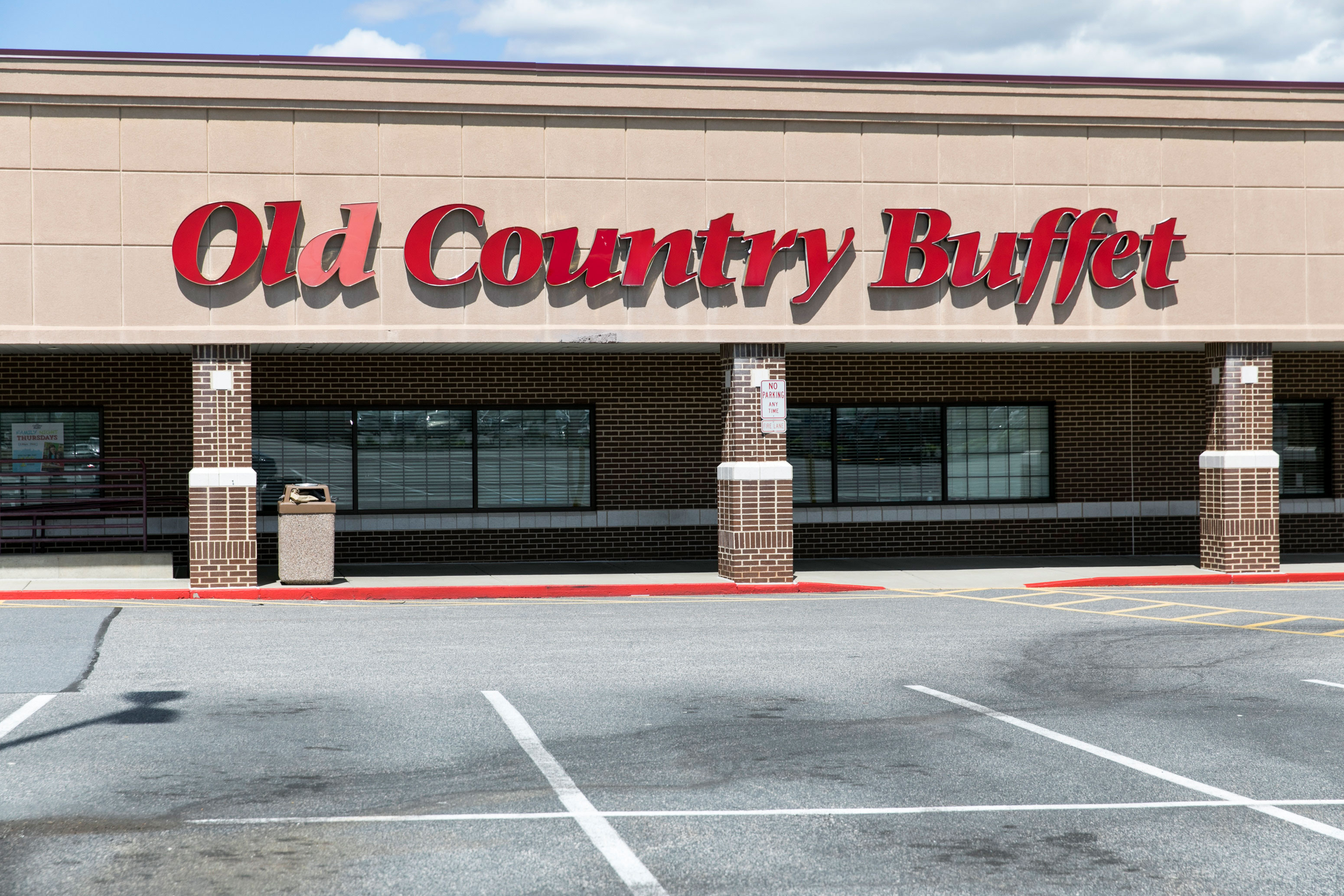 The parent company of Old Country Buffet filed for bankruptcy