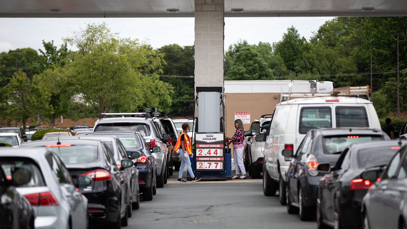 Why Americans are panic buying fuel — and why you shouldn't