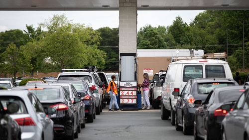 Image for Why Americans are panic buying fuel -- and why you shouldn't