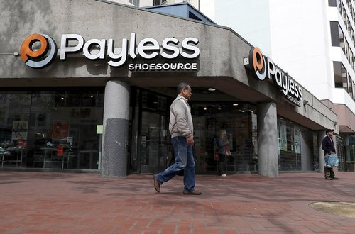 Payless Closing in Salina, Across Country