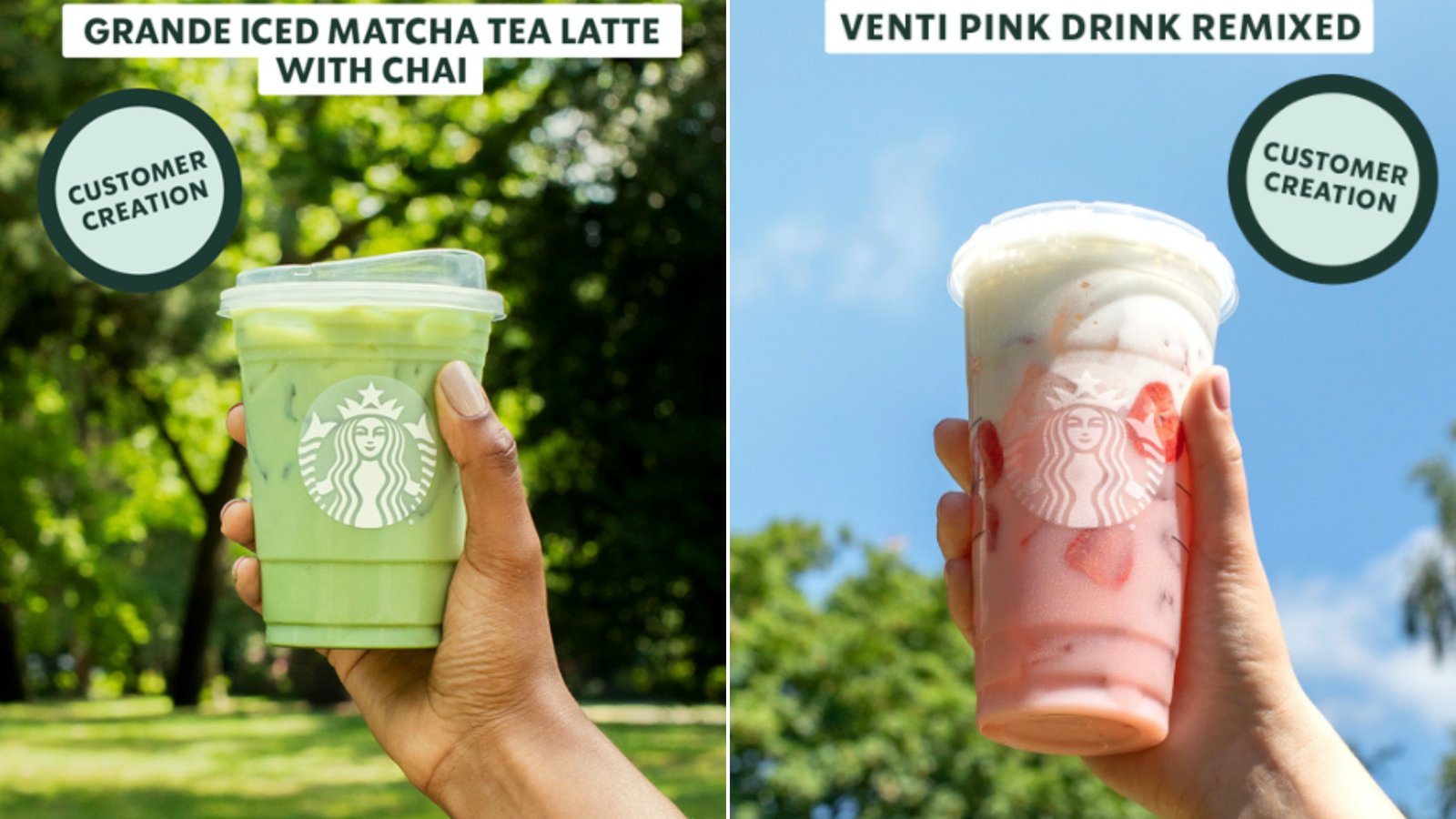 Starbucks is testing out selling these popular drinks on Facebook and Instagram