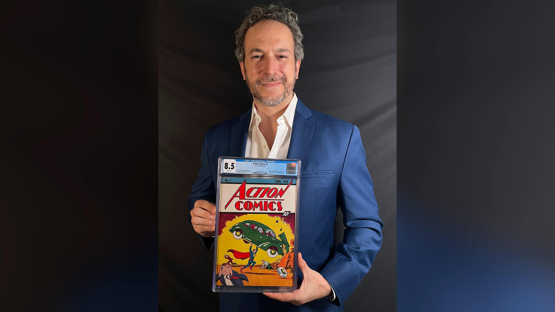 Rare original Superman comic sells for record $3.25 million