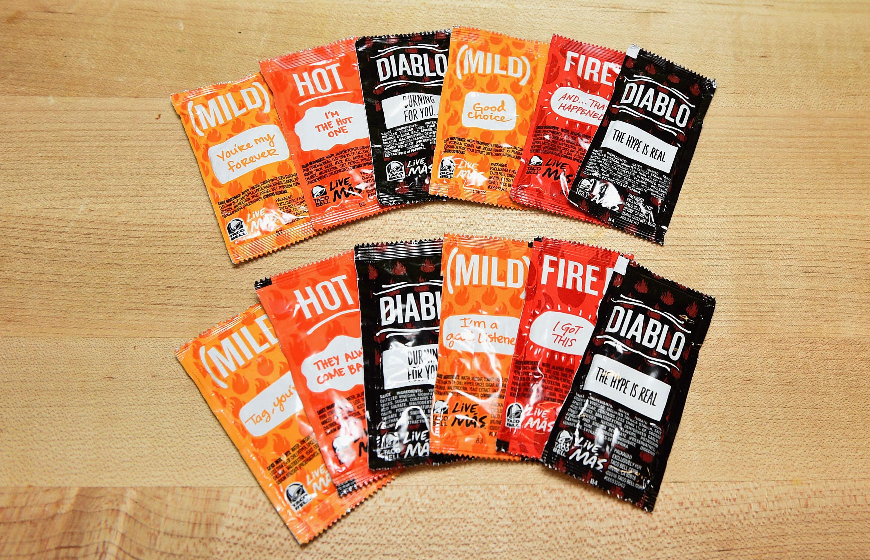 Taco Bell will start reusing hot sauce packets
