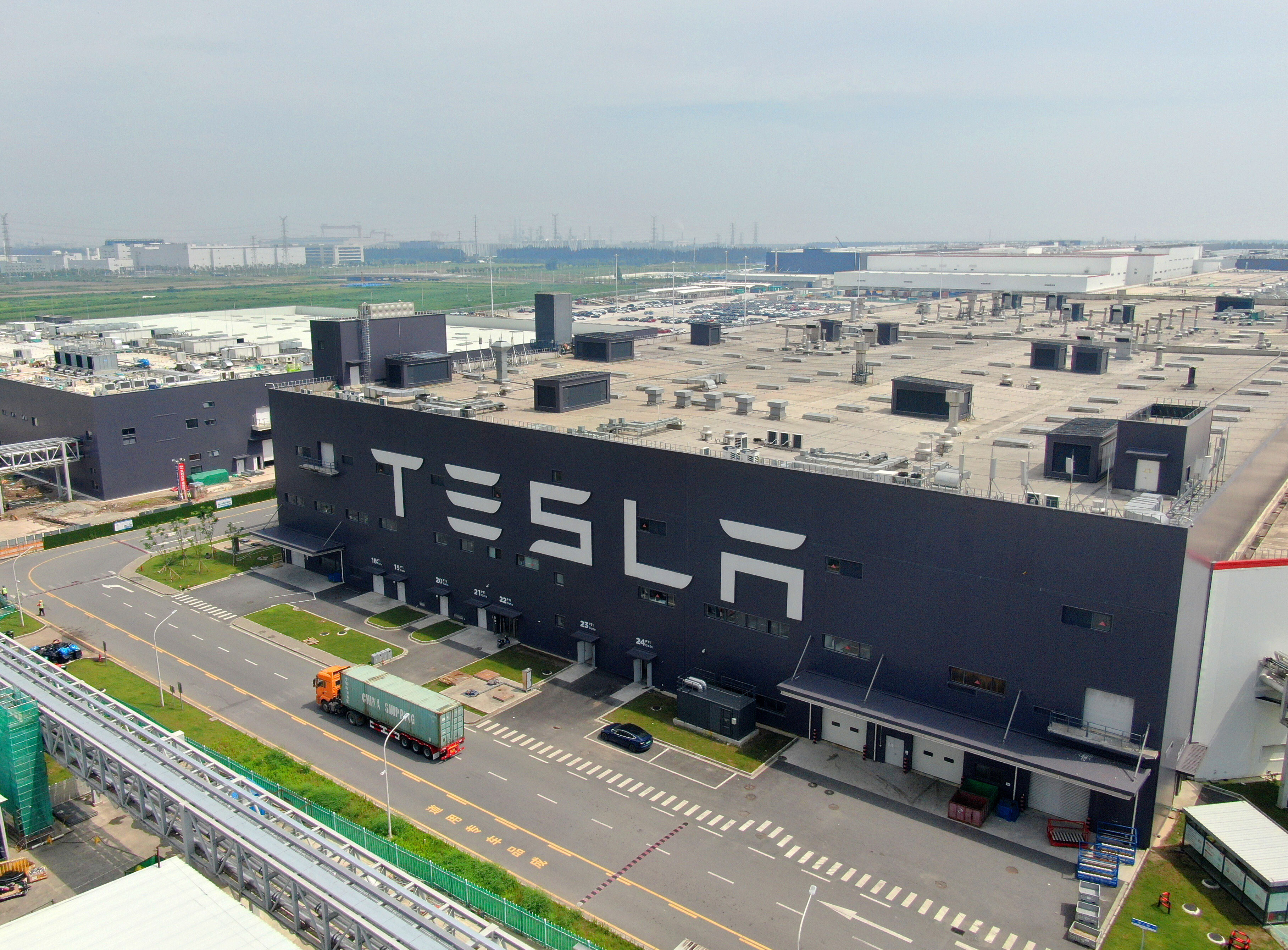 Tesla sales cratered in China, but investors don't seem to mind