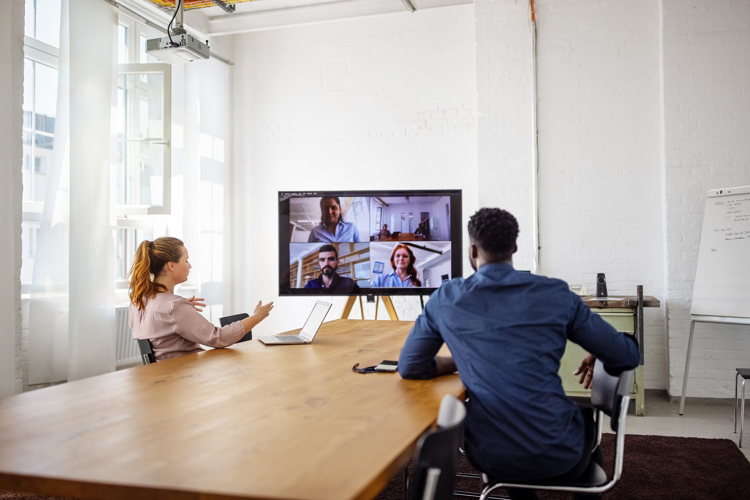 Think remote meetings are hard? Hybrid meetings are much more complicated