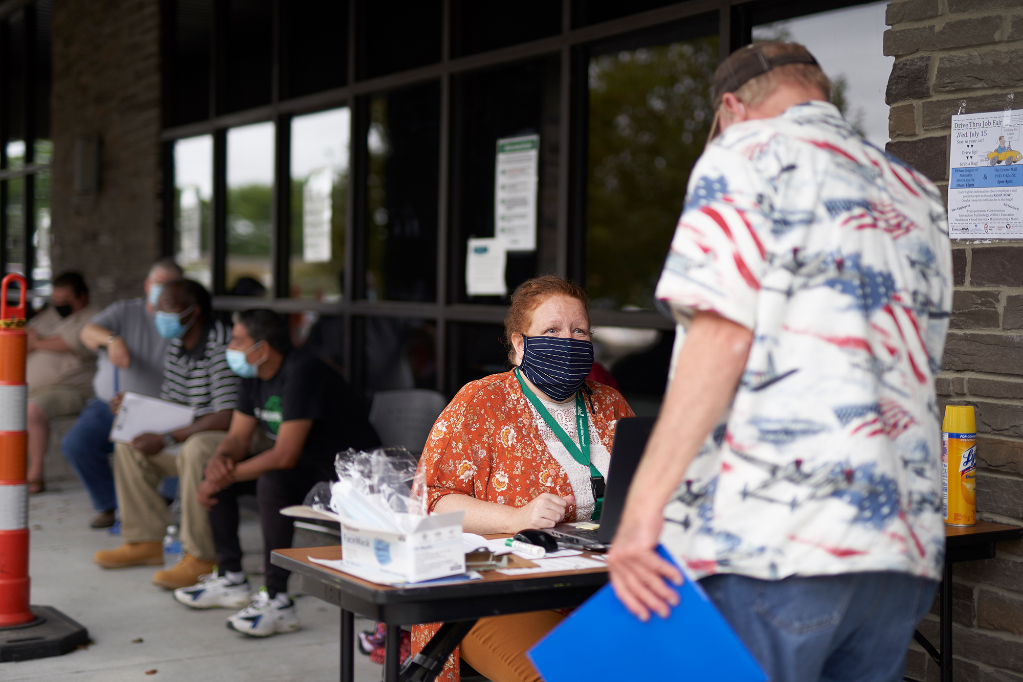 Another 1.2 million Americans filed for first-time unemployment benefits last week