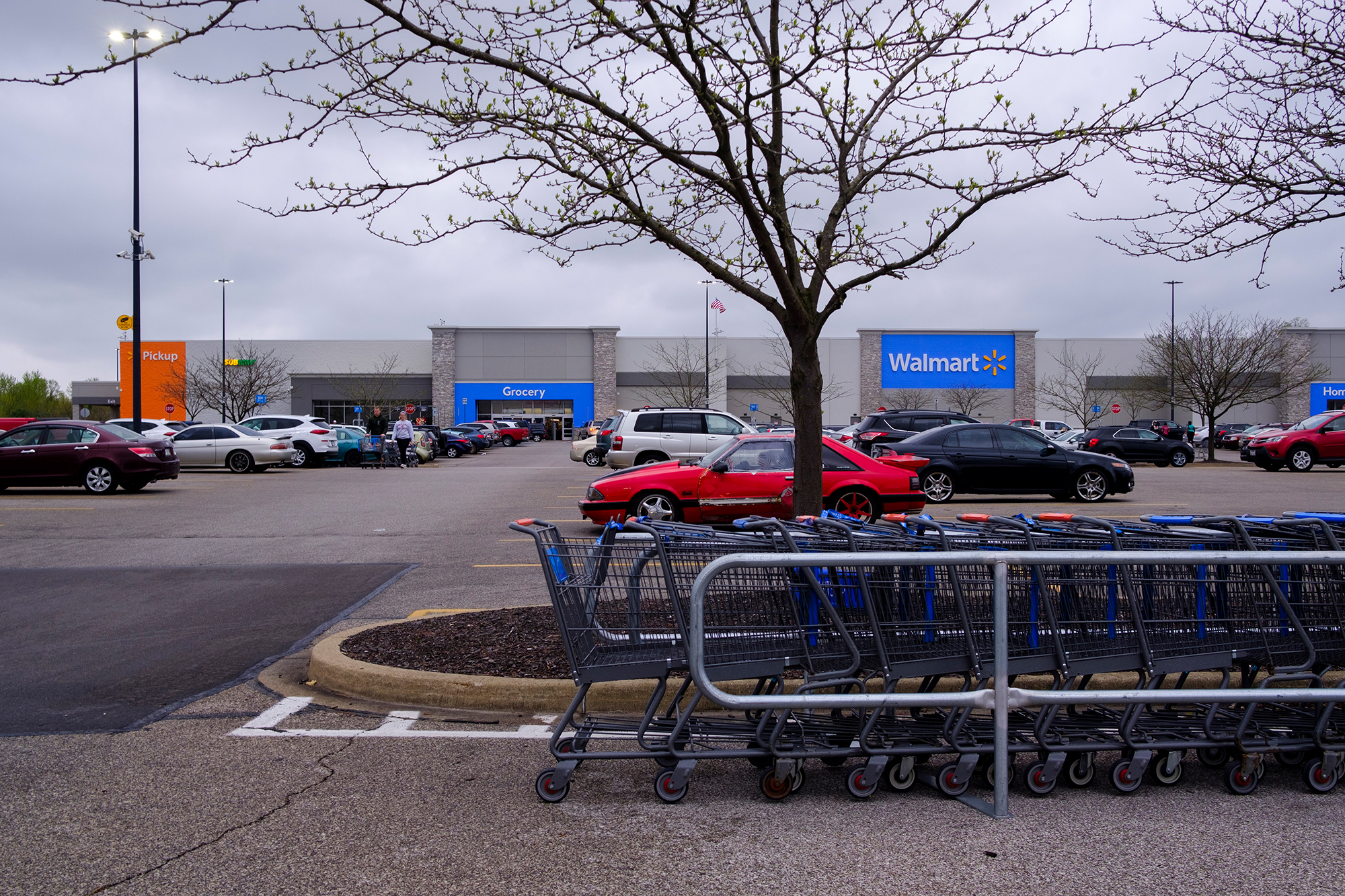 Walmart is transforming 160 of its parking lots into drive-in theaters