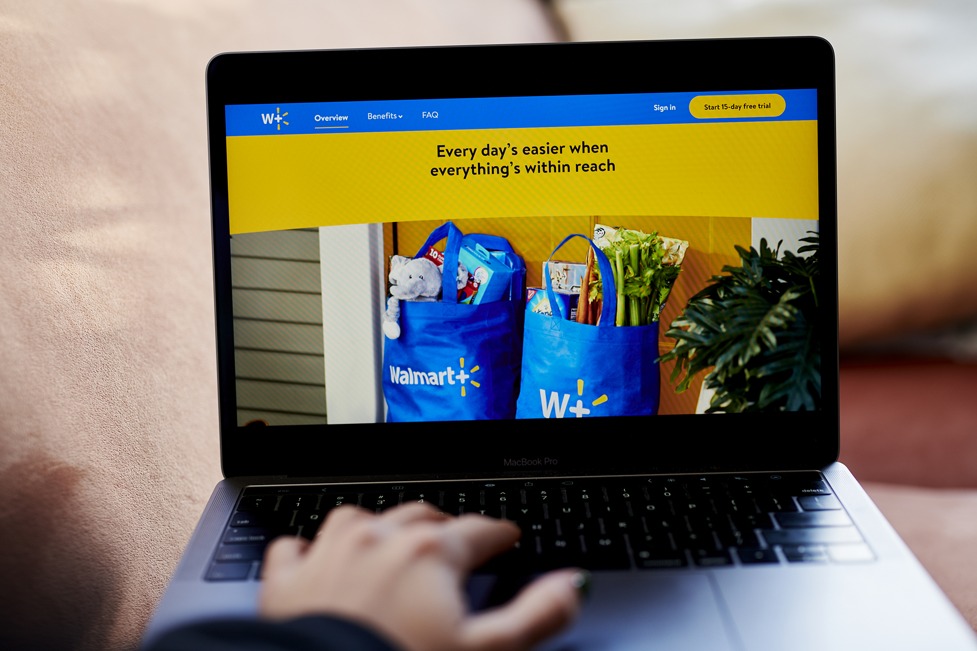 Walmart's online store isn't profitable. Now it's borrowing from Amazon's playbook