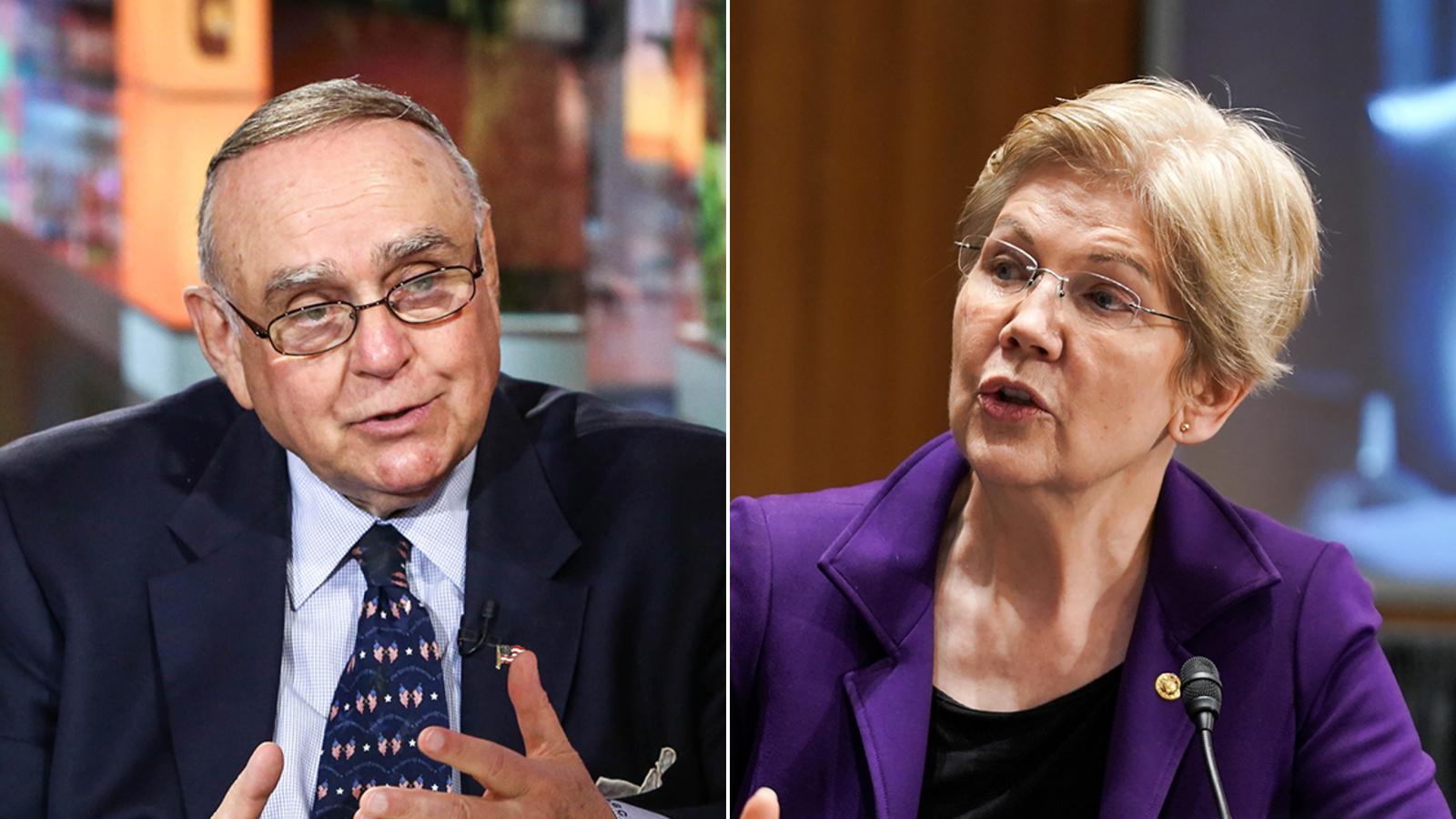 Billionaire turns down Elizabeth Warren's offer to testify on her wealth tax