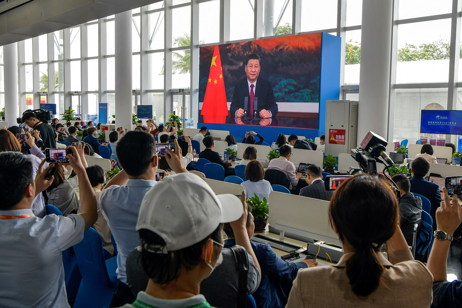 Xi Jinping says 'bossing others around' won't work as US ups pressure on China